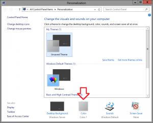 Change Windows Border Colours